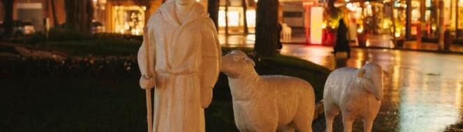Nativité artistique à Milano Marittima