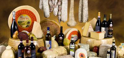 Products and Flavours of the Italian regions